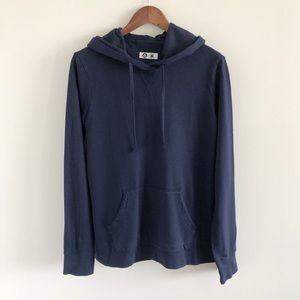 American Giant Blue Hoodie Sweatshirt M